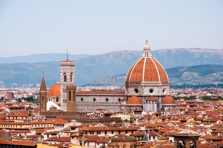 stadsbeeld van Florence, Italië Stockfoto