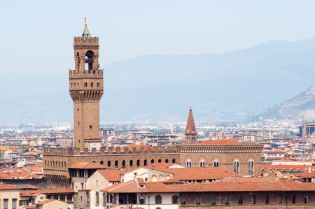 cityscape of florence, italy Stock Photo