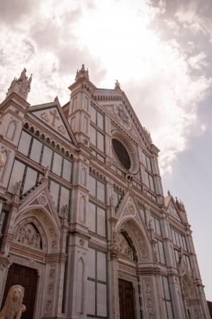 basilica di santa croce in florence, italy Stock Photo