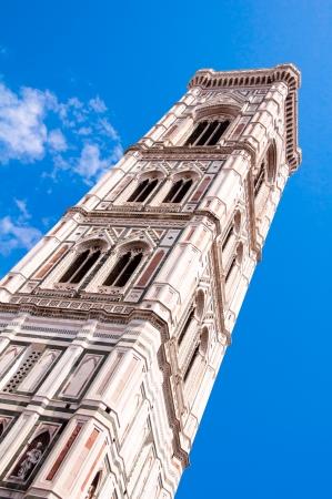 campanile van de basiliek in Florence