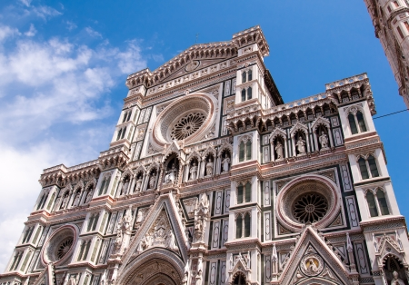 basilica of saint mary of the flower in florence, italy