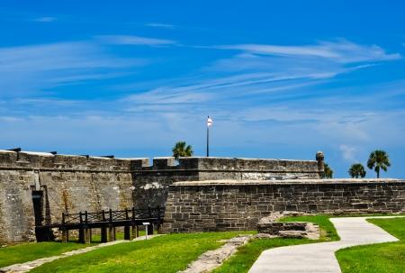 historical fort castillo des san marcos in st  augustine, florida Stock Photo - 24500404