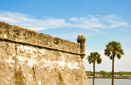 marcos: historical fort castillo des san marcos in st  augustine, florida