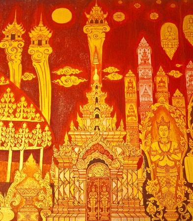Thai art wall painting  Stock Photo - 10694055