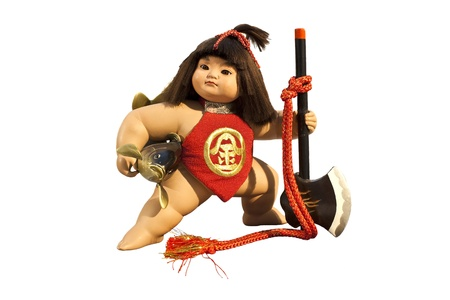 kintaro doll Stock Photo - 12412288