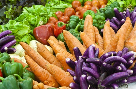 colorful vegetable photo