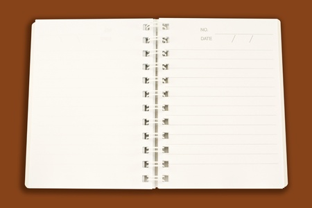 reminder lined ring binder notebook photo