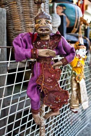 thai puppet (old thai toy) photo