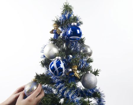 Christmas tree photo