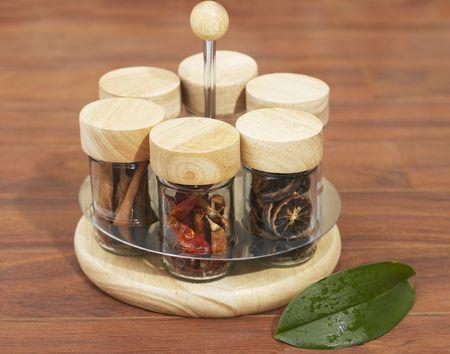 condiments: Condiments Stock Photo