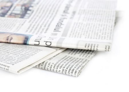 Newspapers series Stock Photo - 2632617