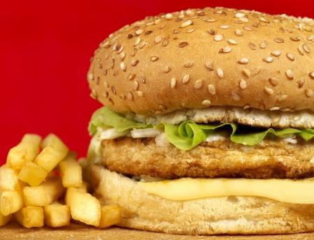 Burger series photo