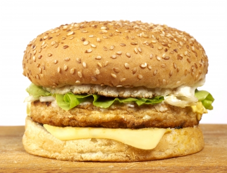 bollos: Serie de la hamburguesa Foto de archivo