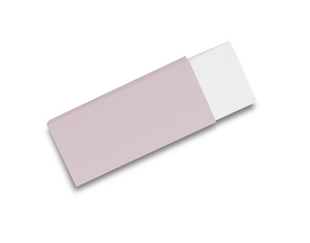 eraser: Eraser isolated on white