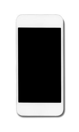 generic: Smart phone isolated on white