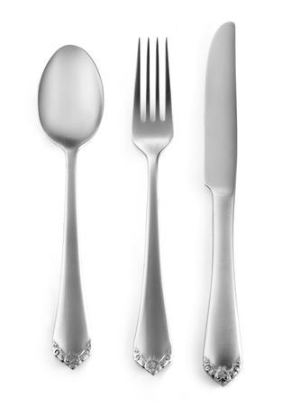 Classic silverware Фото со стока