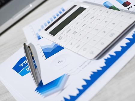 Financial planning Foto de archivo