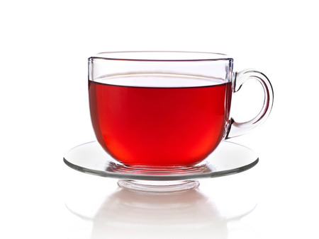 Cup of tea, isolated on white