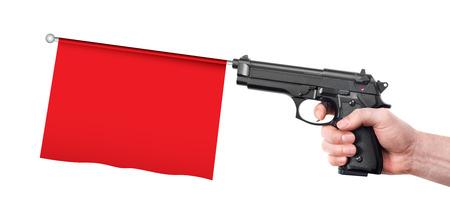 prank: Hand gun prank
