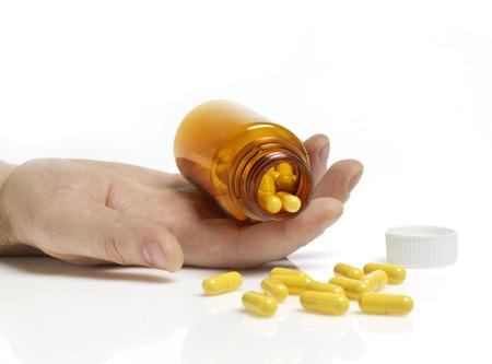 túladagolás: Pills-túladagolás Stock fotó