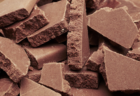 fondo chocolate: El chocolate de fondo Foto de archivo