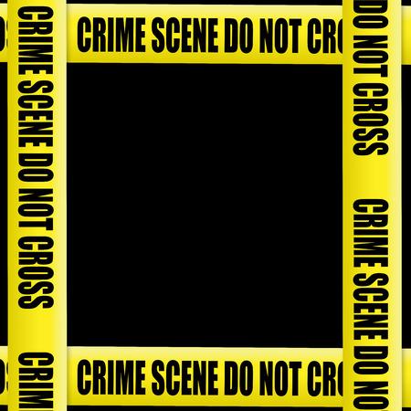 crime scene tape: Crime scene tape on black background