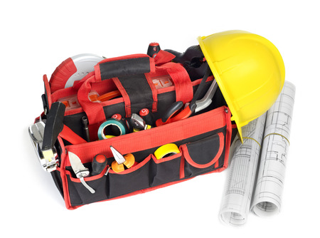 home addition: Toolbox and blueprints