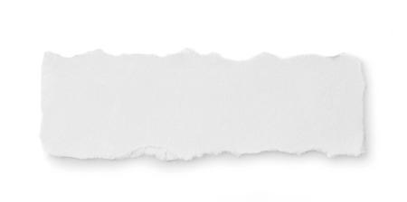 Gescheurd papier Stockfoto