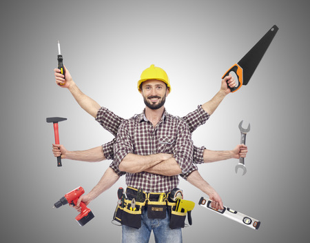 work tools: Manitas con herramientas