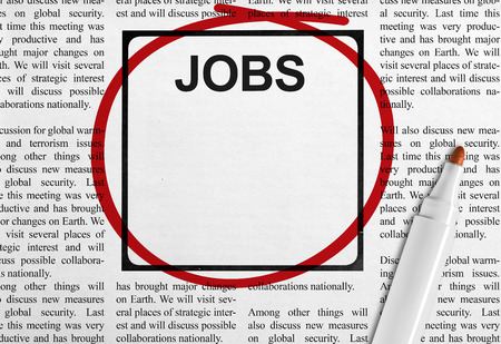 ad: Job ad in newspaper