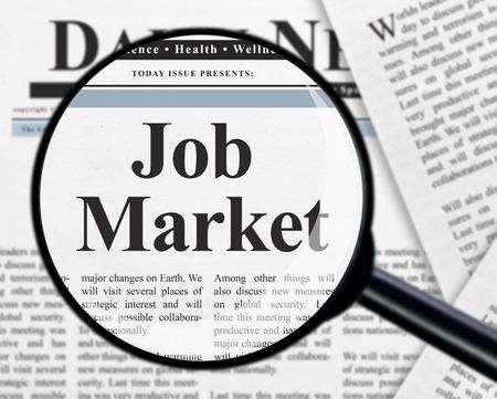 Job market photo