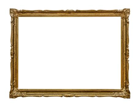 wood frame: Vintage frame