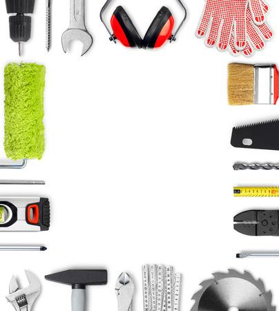 herramientas de construccion: Herramientas de trabajo trama