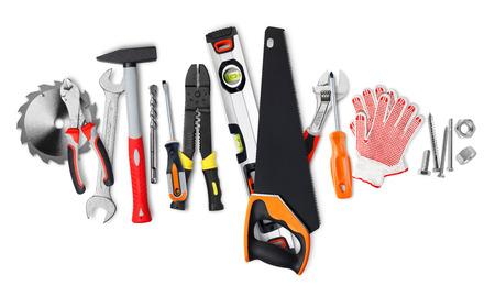 herramientas de construccion: Herramientas de construcci�n  Foto de archivo