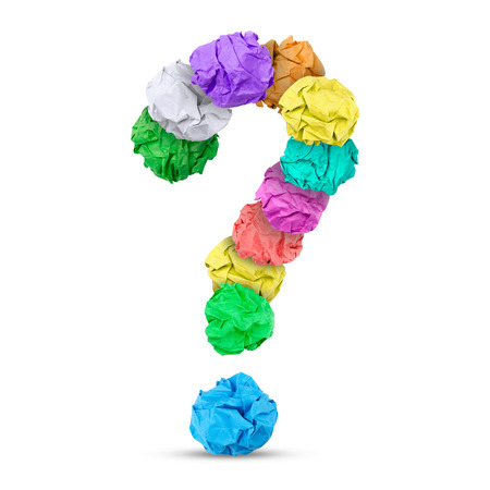 think out of the box: Question mark