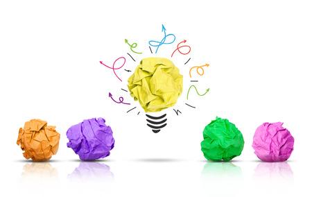 Brainstorming concept Banque d'images