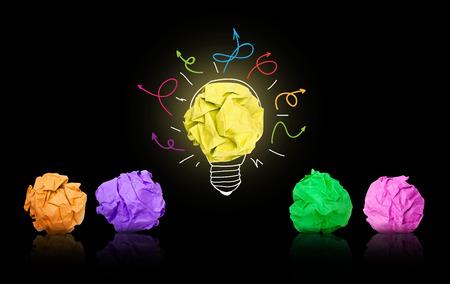 brainstorming: Brainstorming Stock Photo