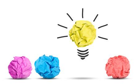 paper basket: Idea concept