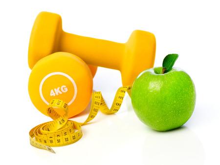 manzana: Dieta y ejercicio