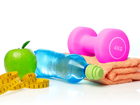healthy lifestyle: Healthy lifestyle concept Stock Photo