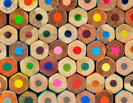 art supplies: Pencils background
