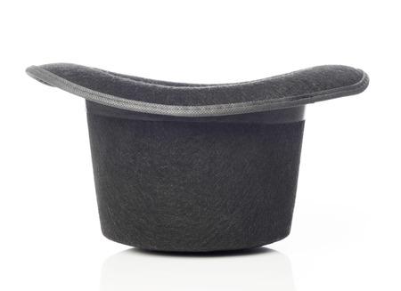 cabeza abajo: Sombrero negro del revés
