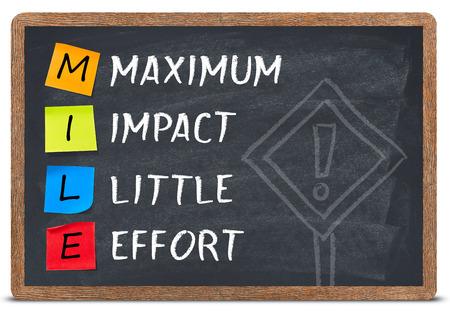 maximum: Mile concept