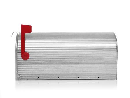 e u: Closed mailbox Stock Photo