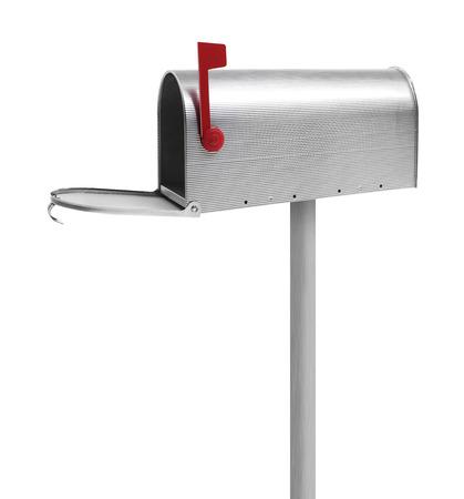 Empty mailbox Stock Photo