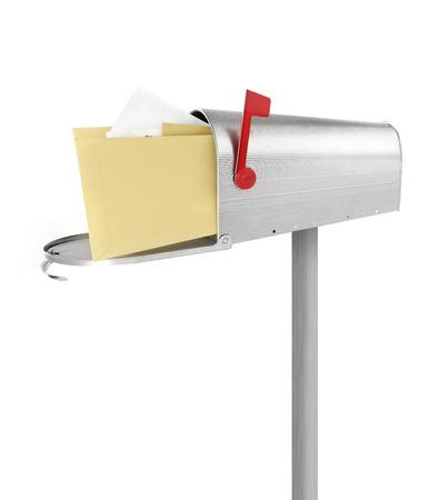 the u s  flag: Mailbox