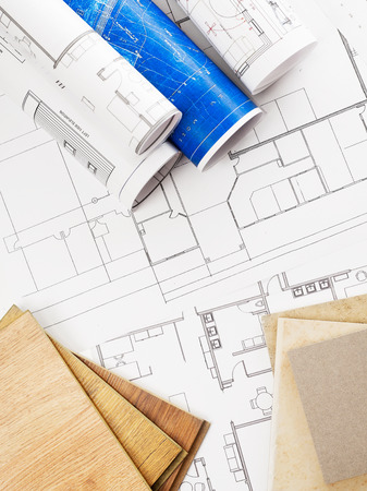home addition: Improvements Stock Photo