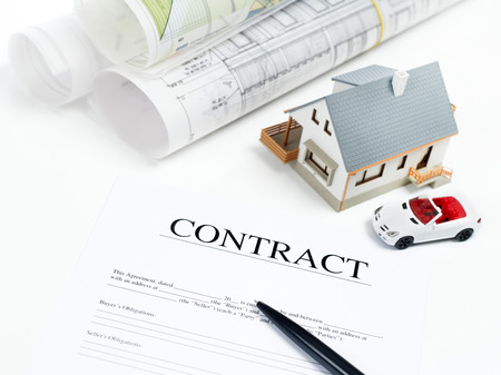 real estate contract: House contract