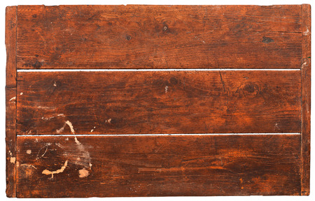 blacksmith shop: Wood plank on white background
