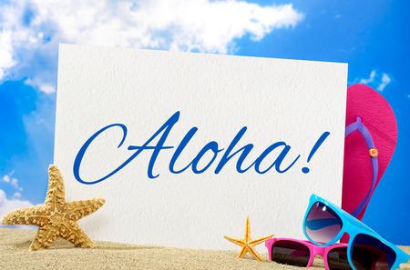 aloha: Aloha banner